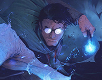 Harry Potter Animation Project