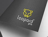 Leopard Pro| Logo and Website layout