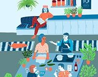 Women's Co-Housing Herizons Magazine