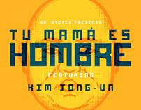 Tu mamá es Hombre - Sticker Set featuring Kim Jong-un
