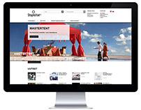 Stopteltat: Website design