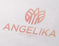 Identity. Beauty salon Angelika.