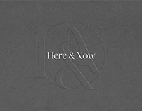 Here & Now Pottery | Branding