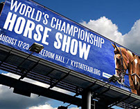 Billboard for Horse Show 2014