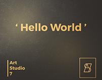 Art Studio 7 Agency Brand Identity