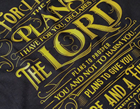 For I know the plans | Jeremiah 29:11 | T-Shirt