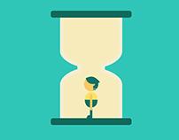 【GIF】關於時間 Hourglass