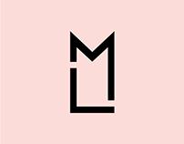 LM logo & business card design