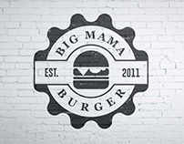Big Mama burger house logo