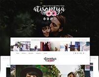 Atisomya - Clean & Personal Blog WordPress Theme