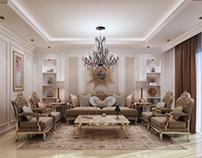 Classic reception interior design
