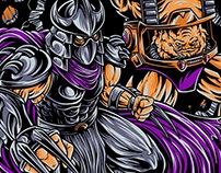 Shredder & Krang- Dr. Horror