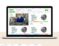 Разработка интернет-магазина для теплового оборудования