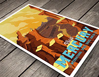 Solar System Travel Posters - WPA