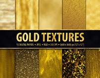 FREE PAPER PACK Gold Textures
