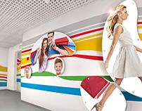 Дизайн-проект оформления холла офиса Меги