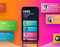 A Complete iOS App for Hiring Designers
