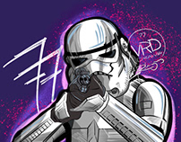 Daily Sketch - Stormtrooper