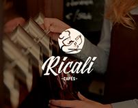 Ricali Cafés | Rebrand e Site