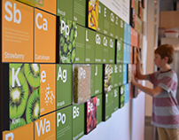Thinkery Periodic Table of Foods