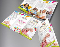 Thrive Senior Advisors Trifold Brochure