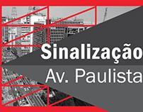 Sinalização Av. Paulista