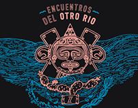 """Poster. """"Encuentros del Otro Río"""" Vol 2"""