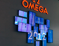 Omega Olympic Display  BaselWorld 2016