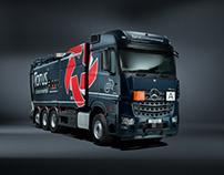 Truck Photography in Studio