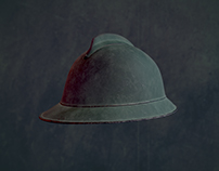 World War 1 italian helmet model
