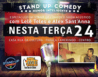 Comedy Stand Up Flyer