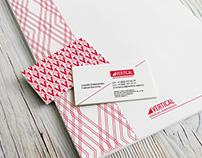 Vertical - logo & branding Identity Development