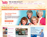 WEtv website redesign