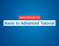 Adobe Illustrator CC (Basic to Advanced) Tutorial