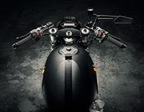 Customised Aprilia Motorcycle Photography