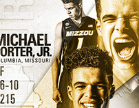 #1 recruit, Michael Porter, Jr. official commitment