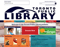 Toronto Public Library Redesign
