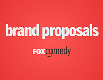 Fox Comedy - refresh proposal