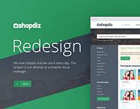 Shopdiz — Redesign