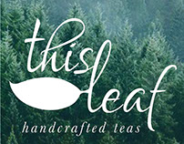 This Leaf Tea Branding & Web Design