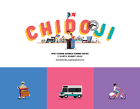 CHIDOJI Emoji's for the City of Mexico