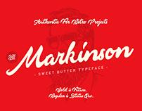 Markinson Script Typeface