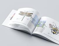 Landscape Magazine / Brochure Mock-Up 3D Visualization