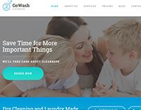 GoWash - Dry Cleaning & Laundry Service WordPress Theme