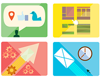 Email Marketing Icon Set