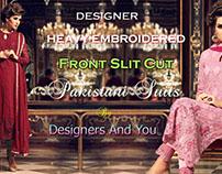 Beautiful Pakistani Designer Dresses & Salwar kameez
