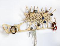 Jewelry holder organizer, jewelry Stand