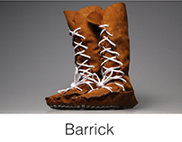 Barrick Footwear - The Urban Cowboy