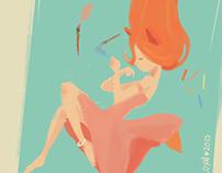 Pastel Fox ( My Oc)