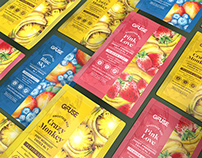 GFuse Smoothie Mix Packaging